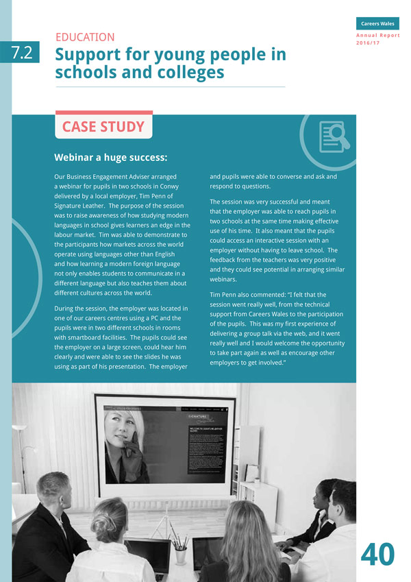 Career Wales case study
